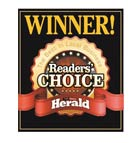 Winner 2015 Readers' Choice